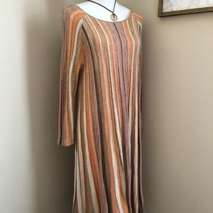 Anthropologie Moth Knit Lined Dress SZ M